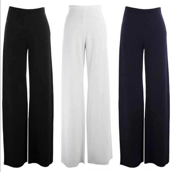 MaxMara Pants - CMaxMara afoso Women's Wide Leg Wool Trouse…